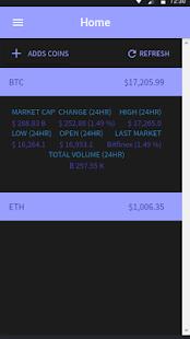 Crypto-Coin Multi App - náhled