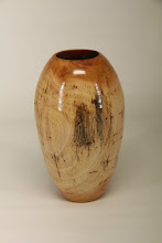 "Photo: Elliot Schantz 6"" x 3"" hollowed vessel [Cuban mahogany]"