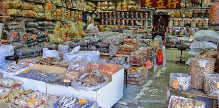 Photo: Preserved food shop Sheung Wan, Hong Kong