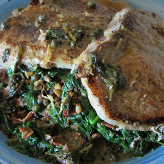Spinach Stuffed Pork Chops Recipe