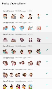 WAStickerApps - Stickers Love et couple 2019 Screenshot