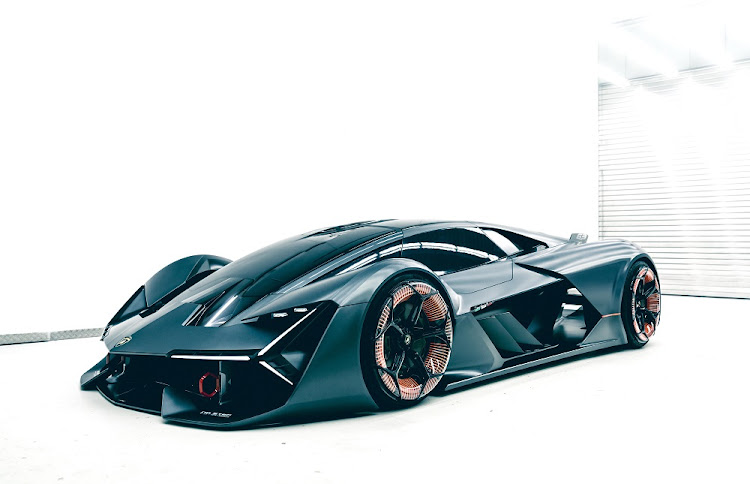 The Terzo Millennio concept shows that the future of the hypercar is very much alive. Picture: LAMBORGHINI