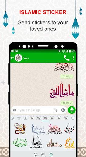 Islamic Stickers - Hajj 2020 Islamic Stickers 1.0 screenshots 8