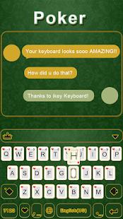 Poker-iKeyboard-Theme