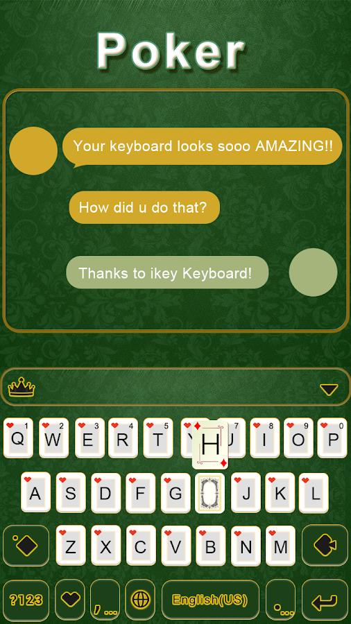 Poker-iKeyboard-Theme 5
