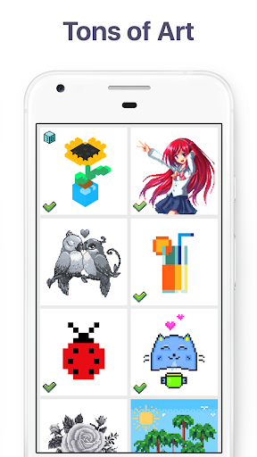 Pixel Art: Build by Number Game screenshot 3