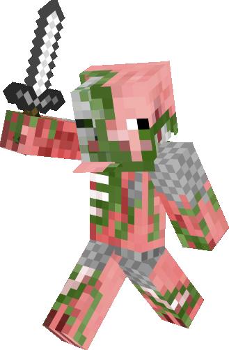 Zombie Pigman Knight