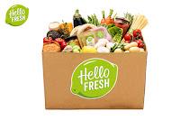 Angebot für HelloFresh Gewinnspiel im Supermarkt