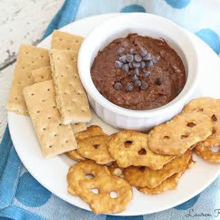 Healthy Chocolate Cookie Dough Dip.