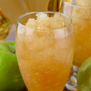 Apple Brandy Slush.