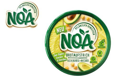 Bild für Cashback-Angebot: NOA Brotaufstrich Kichererbse-Avocado