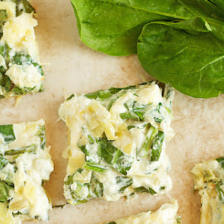 Artichoke Spinach Dip Stuffed Flatbread