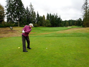 Photo: Druids Glen - Oct 2012. Get that left heel DOWN!!  15th Hole.