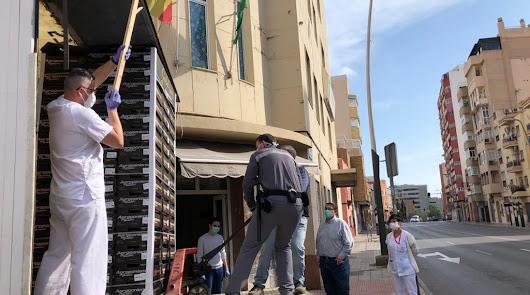 Agroponiente dona 2.000 kilos de productos a los hospitales almerienses