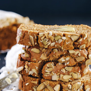 Paleo Pumpkin Bread (GF, Nut-, Dairy-, + Refined Sugar-Free).