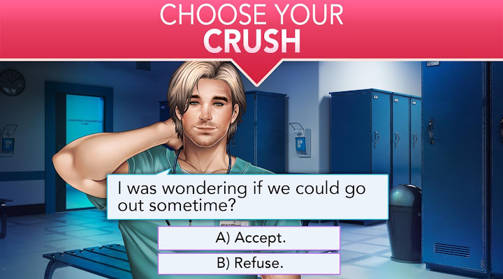 Is it Love? Blue Swan Hospital - Choose your story Android App Screenshot