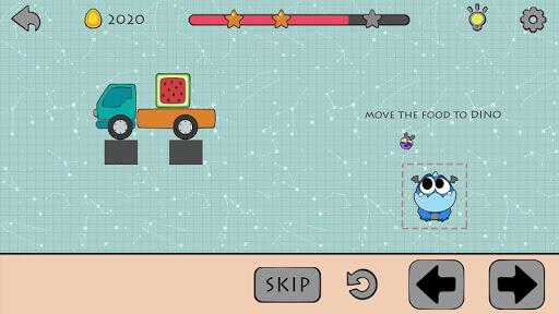 Dino Brain: Brain It On - Draw Physics Line apkpoly screenshots 15