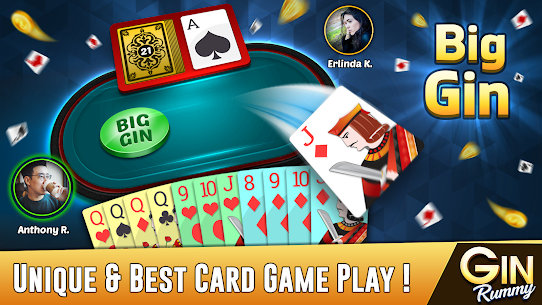 Gin Rummy – Best Free 2 Player Card Games 3