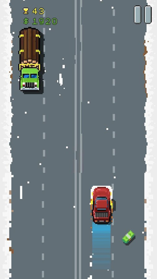 8Bit Highway: Retro Racing- screenshot
