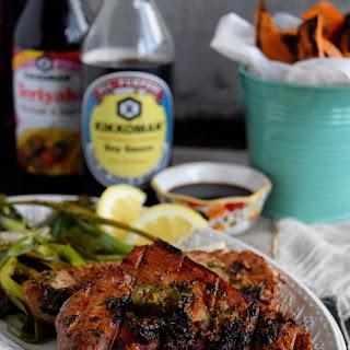 Soy Grilled Tuna Steaks.