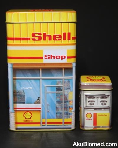 Stesen minyak Shell tahun 1980an