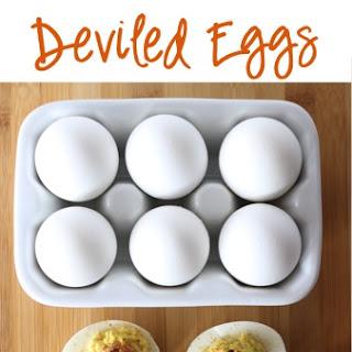 Easy Bacon Deviled Eggs