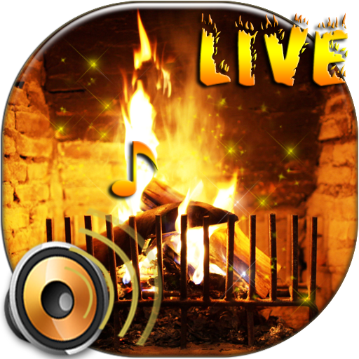 download live fireplace wallpaper with sound for pc
