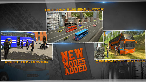 Police Bus Driving Game 3D 1.3 screenshots 1