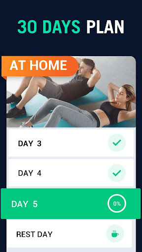 30 Day Fitness Challenge - Workout at Home screenshot 8