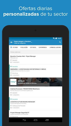 InfoJobs - Job Search  screenshots 19