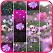 Spring Piano Blossom Tiles Flowers Hearts Love