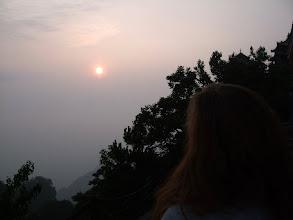 Photo: Sunrise at the Golden Peak
