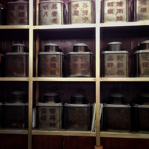 tea canister, Chinese, Tea Tin, Traditional, tea shop, tea store, hong kong, 傳統, 中國, 茶葉罐, 茶葉店