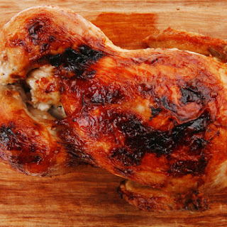 Charred Honey Lime Rotisserie Chicken