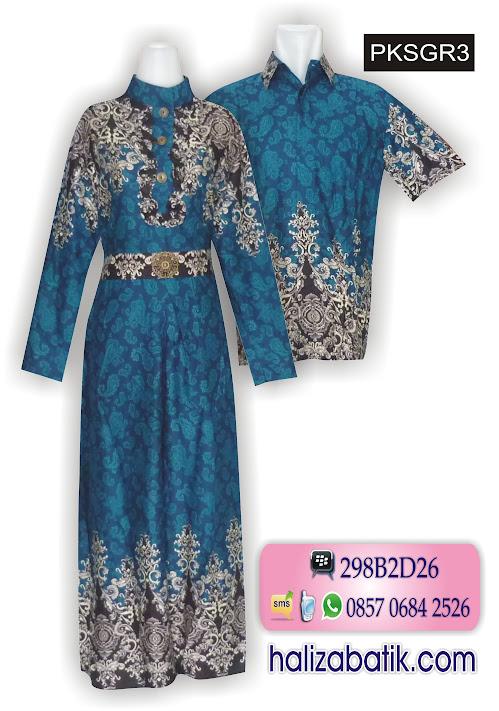 baju muslim terbaru, model baju, batik couple