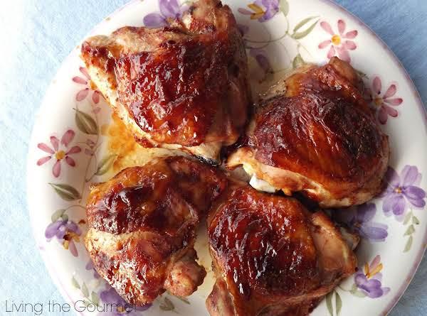 "Bbq"" Style Chicken Thighs Recipe"