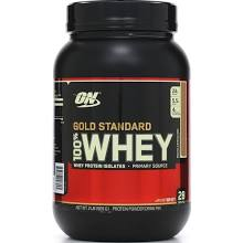 whey protein on gold standard