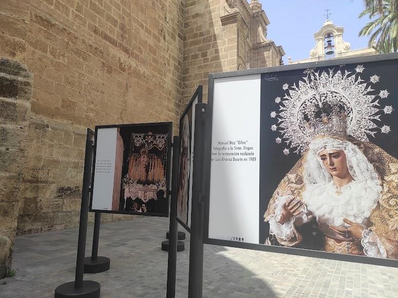 Dos de las imágenes de la exposición de los Estudiantes.