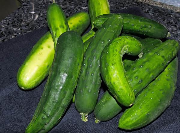 Pickles Out Of The Garden..