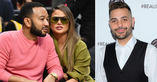 John Legend publicly defends Chrissy Teigen as he labels Michael Costello DM messages 'completely fake': 'This exchange was made up'