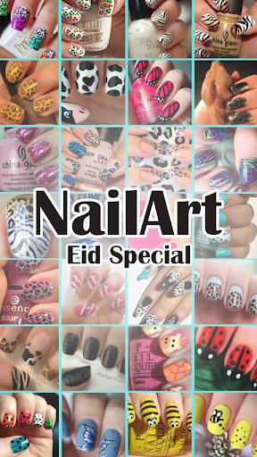 Nail Art Tutorial Eid Special