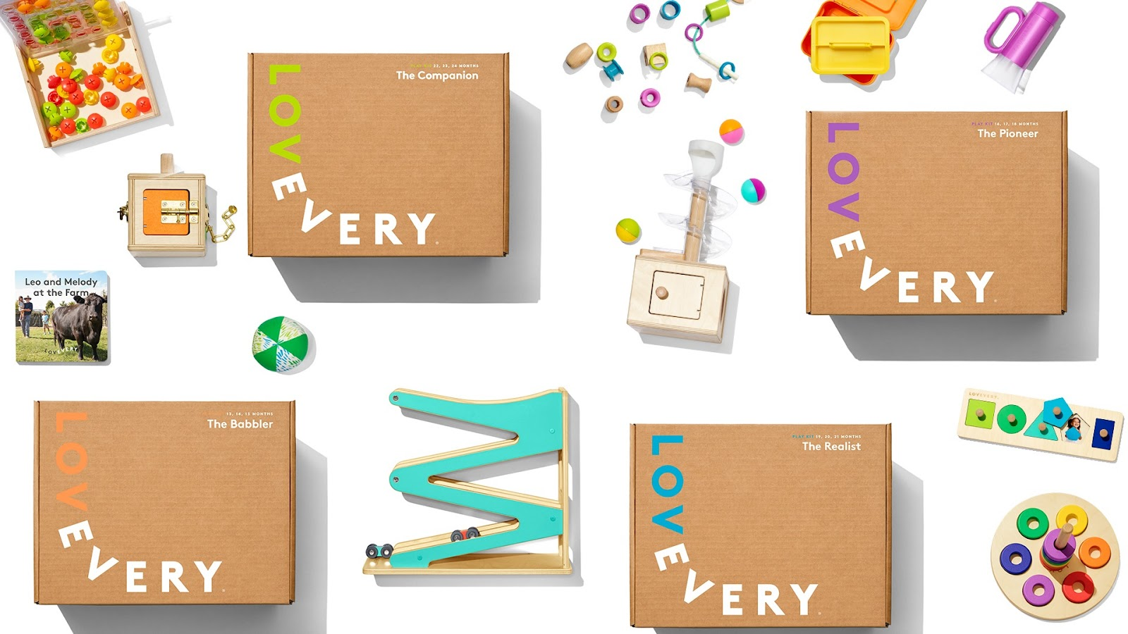 Lovevery Play Kit subscription powered by ReCharge