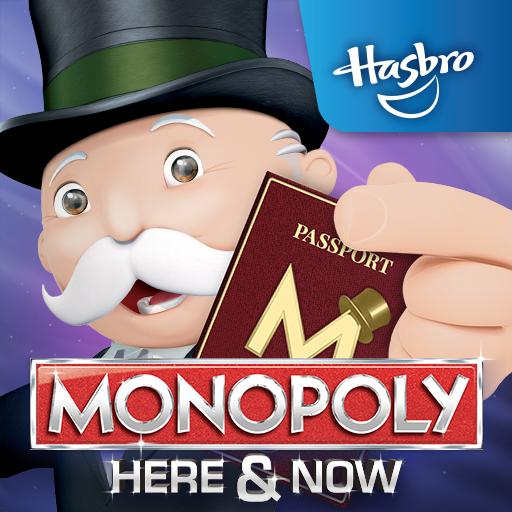MONOPOLY HERE & NOW 棋類遊戲 App LOGO-硬是要APP