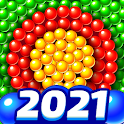 Bubble Shooter 🎯 Pastry Pop Blast icon