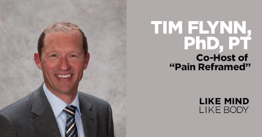 Podcast interview with Tim Flynn, PT, from the Pain Reframed Podcast