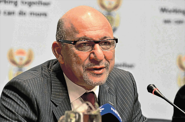 Trevor Manuel says a lot of the lockdown regulations fail the rationality test. File photo.