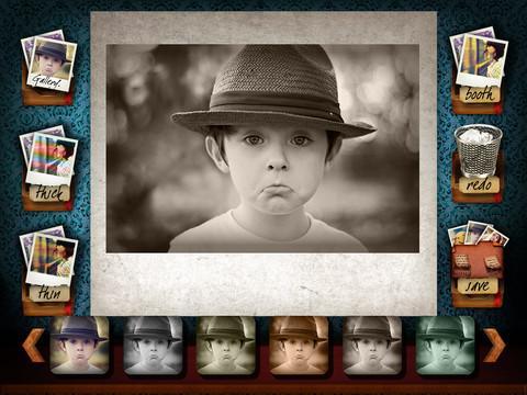 Camera effects app