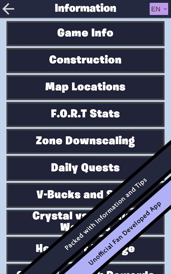 Companion For Fortnite Amp Fortnite Battle Royale Android