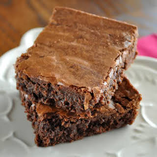 Classic Fudgy Brownies.