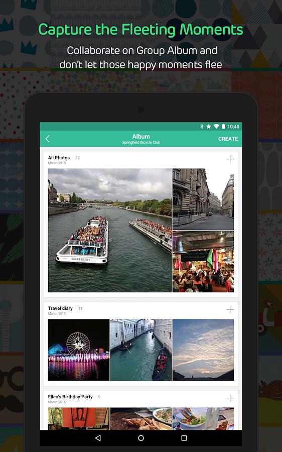 BAND – The Ultimate Group App - screenshot